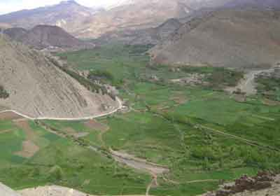 Djebel Mgoun Ait Bougmez Valley