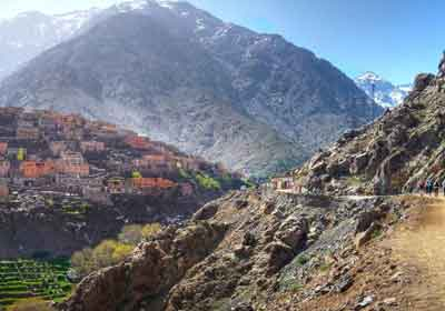 Djebel Toubkal Berber Villages
